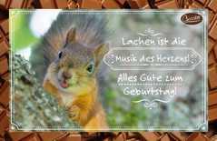 Schokokarte - Lachen ist die Musik des Herzens!