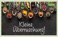 Kräuter-Dip-Postkarte - Kleine Überraschung