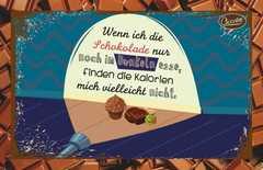 Schokokarte - Wenn ich die Schokolade