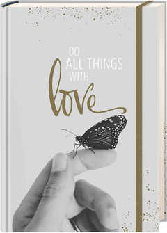 Notizbuch Grace & Hope - Do all things with love