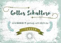 "Postkarten ""Gottes Schultern"" 4er-Serie"