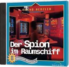 CD: Der Spion im Raumschiff - Weltraum-Abenteuer (8)