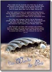 Postkarten: Das Wunder der Perle - 4 Stück