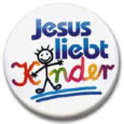 """Ansteckbutton """"Jesus liebt Kinder"""""""