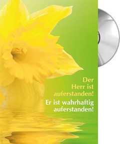 CD-Card: Der Herr ist auferstanden!