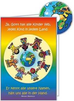 CD-Card: Ja, Gott hat alle Kinder lieb - neutral