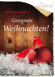Ein Grußbrief - Gesegnete Weihnachten! - 5 Stück