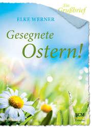 Ein Grußbrief - Gesegnete Ostern! - 5 Stück