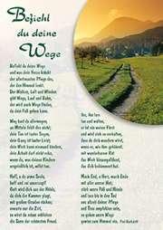 Postkarten: Befiehl du deine Wege, 12 Stück