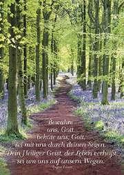 Postkarten: Bewahre uns Gott, 4 Stück
