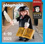 """Playmobil-Figur 6099: """"Martin Luther"""""""