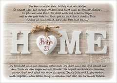 Postkarten: Home - 12 Stück