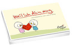 Weil ich dich mag - Postkartenbuch